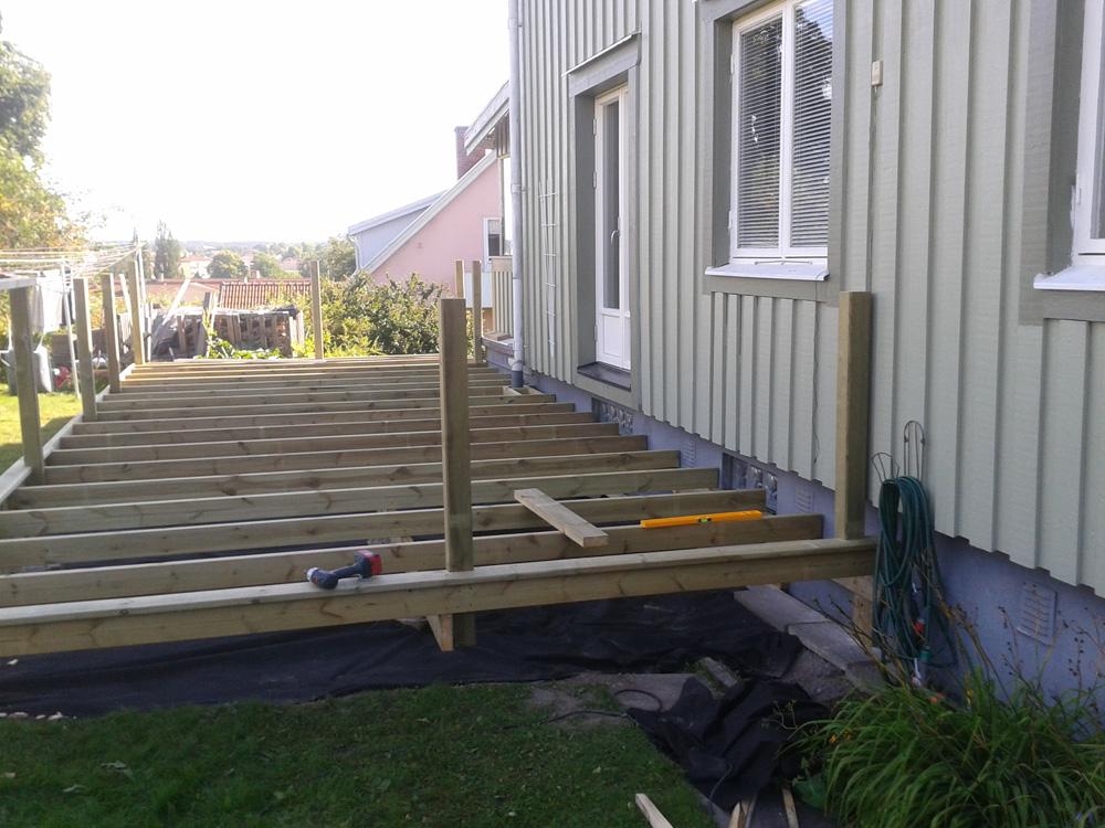 Bygga altan - Västbygg AB
